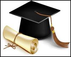 Image of diploma and cap