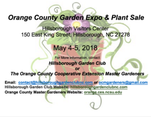 Cover photo for Orange County Garden Expo & Plant Sale