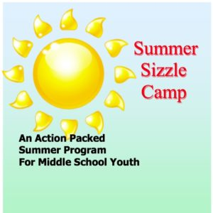 Cover photo for Summer Sizzle Middle School Camp