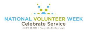 National volunteer week banner