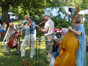 Image of Orange County's 250th Anniversary at the Blackwood Farm in 2003
