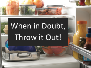 Cover photo for Is the Food in My Refrigerator Safe to Eat?