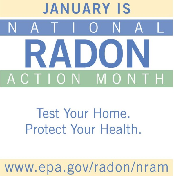 Radon Action Month flyer image