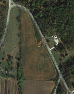 Cover photo for 7 Acres Bottomland for Lease in McDowell County:  Will Trade for Vegetables