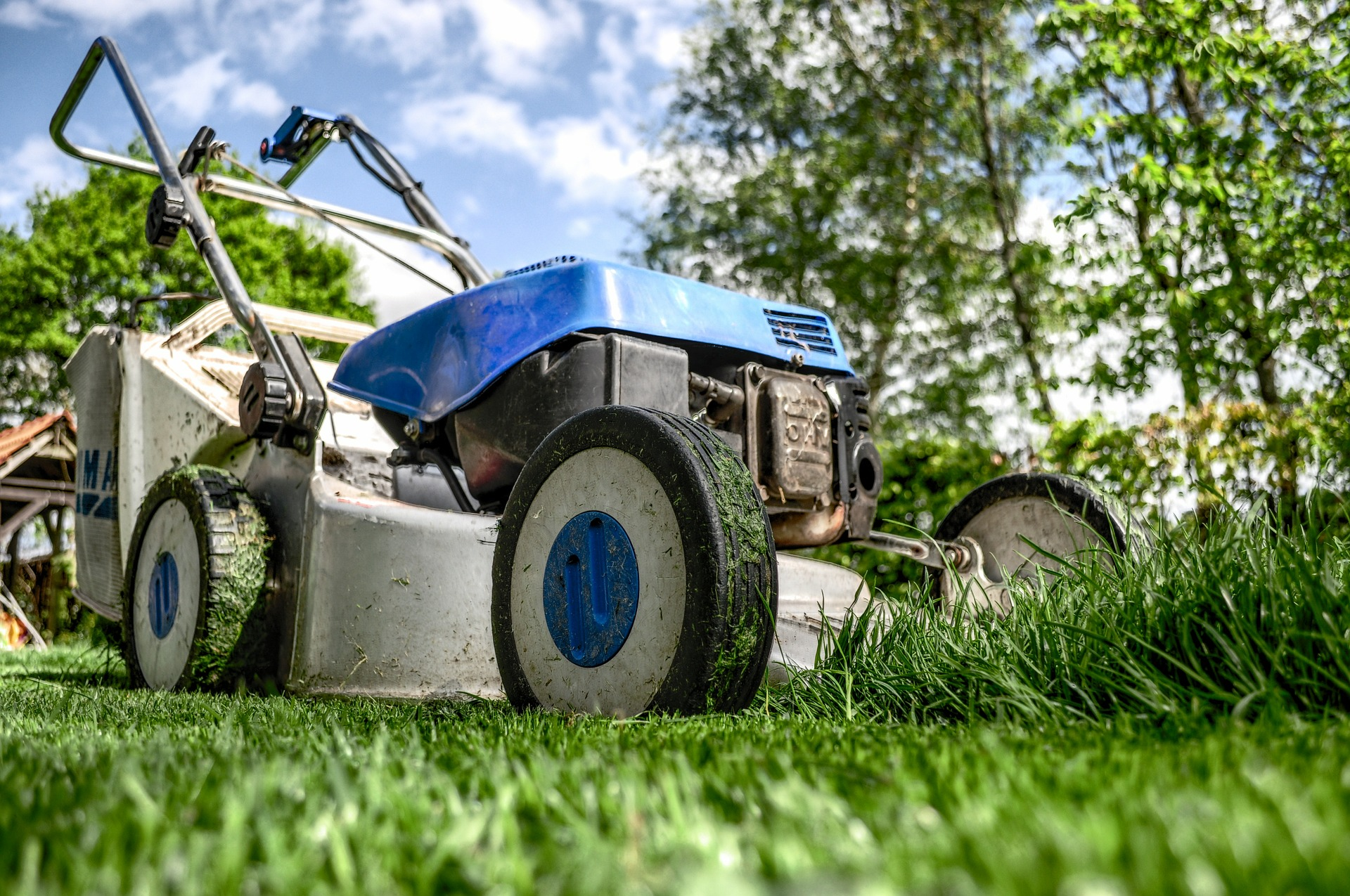 Image of a lawnmower
