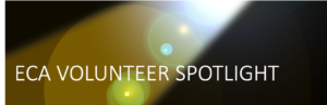 Spotlight shinning on fraze ECA Volunteer Spotlight