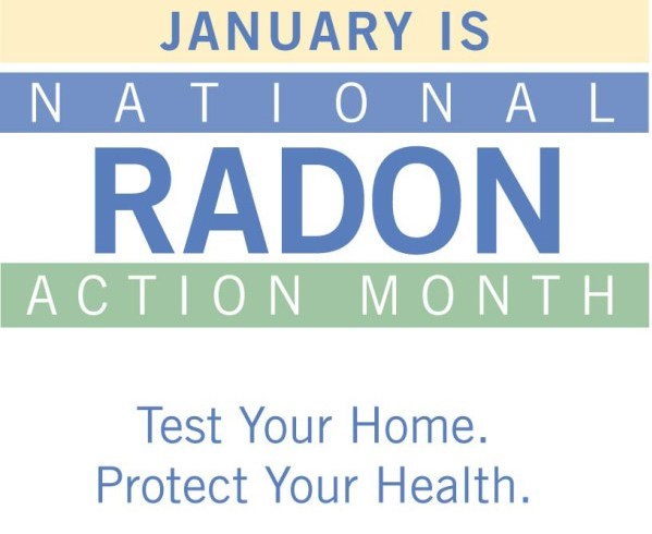 January National Radon Month