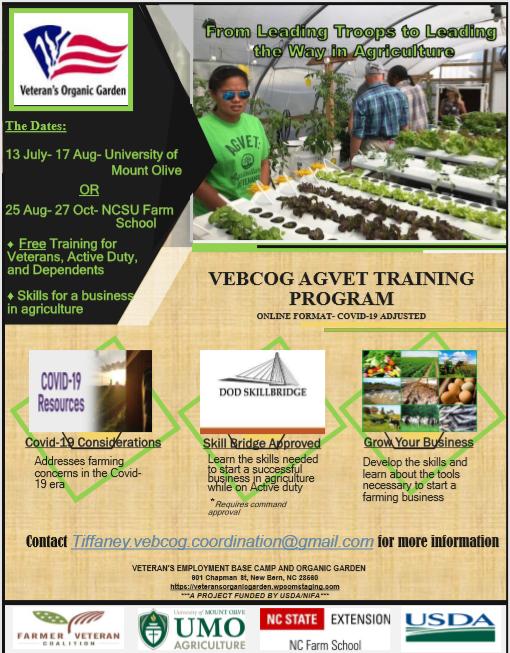 VEBCOG AGVET Training Program
