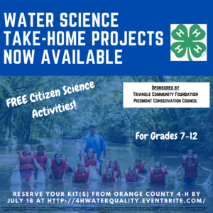 Cover photo for Water Science Youth Project Kits Now Available