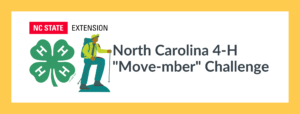 Cover photo for Move-mber: North Carolina 4-H Fall Moving Challenge