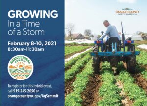Cover photo for 2021 Orange County Agricultural Summit