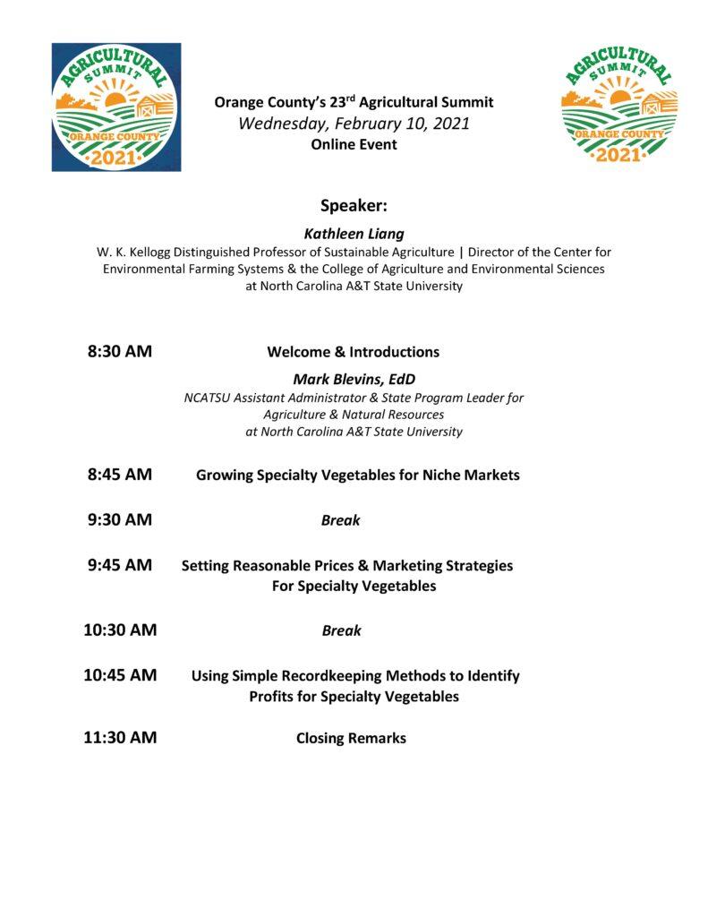 Summit agenda day 3